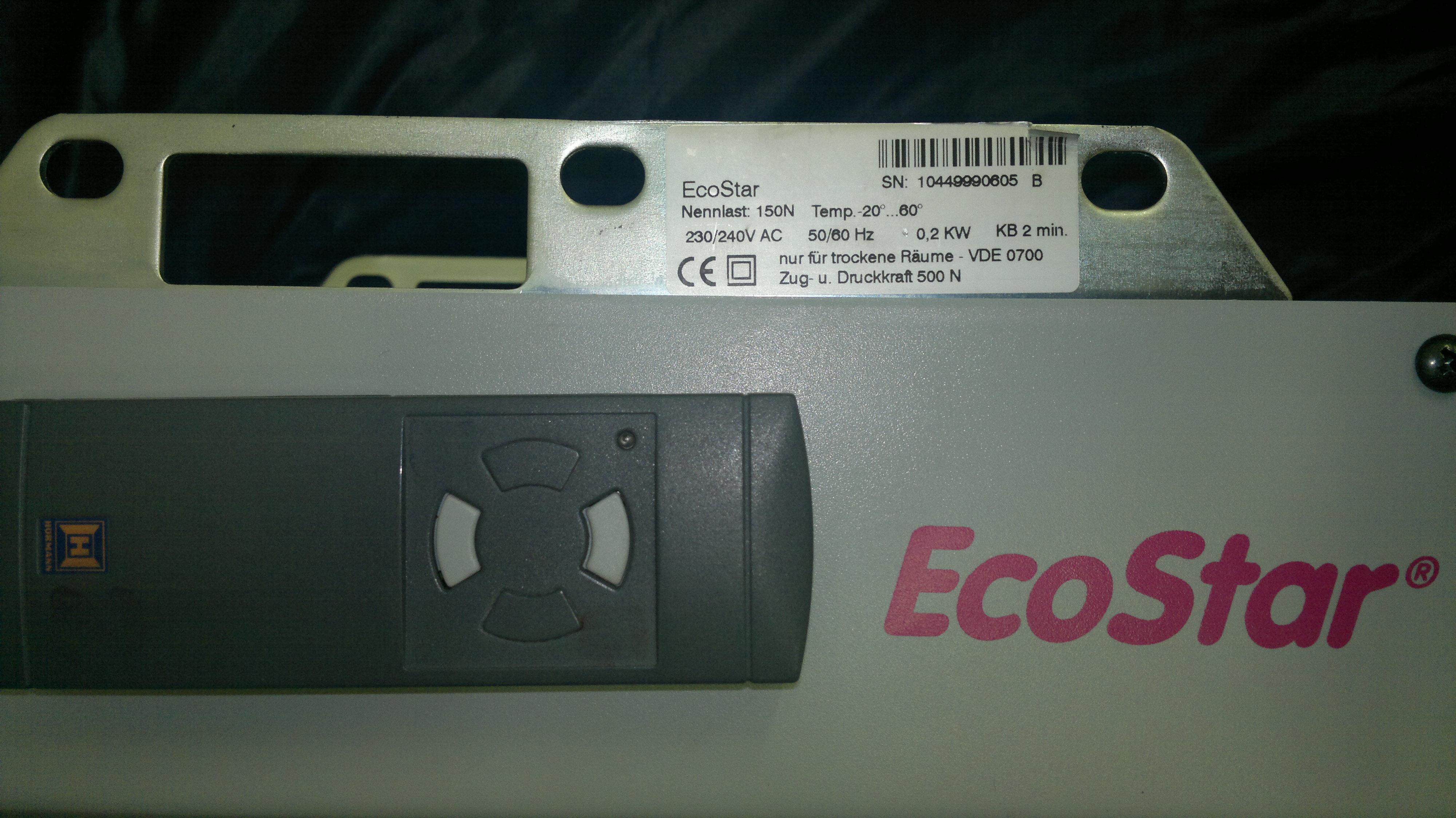 EcoStar nieodpowiedni pilot?