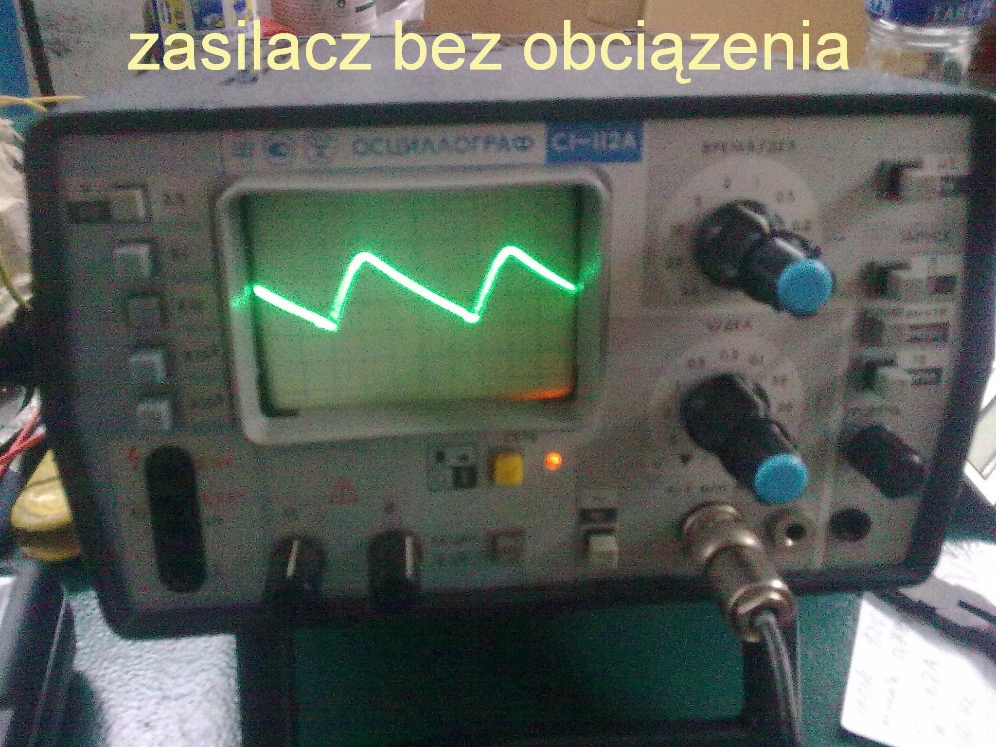 Piec indukcyjny 5,5 kW 1,5 MHz - Uszkodzony prawdopodobnie kondensator 4500pF
