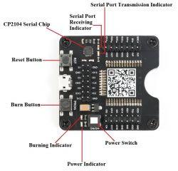Mini-płyty testowe dla układów ESP8266 oraz ESP32