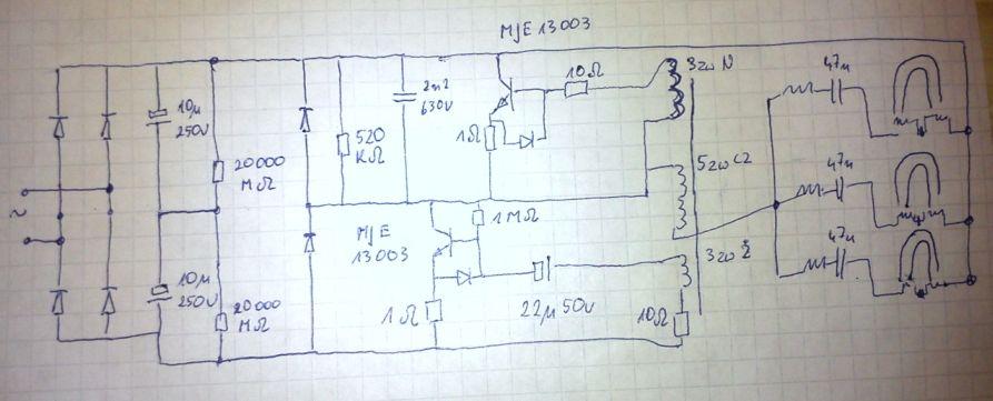 Statecznik elektroniczny do �wietl�wek  PL-s (G23) mruga nie zapala