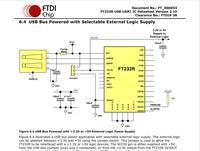 FT232RL - Prośba o sprawdzenie schematu