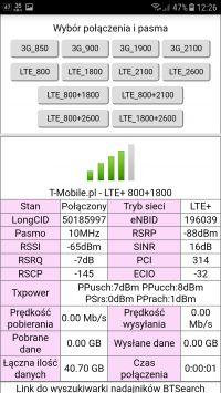 Dziwne zachowanie anteny LTE.