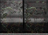 Radio do przystawki NOAA. Dlaczego niektóre mapy są kolorowe? Program pod linuxa