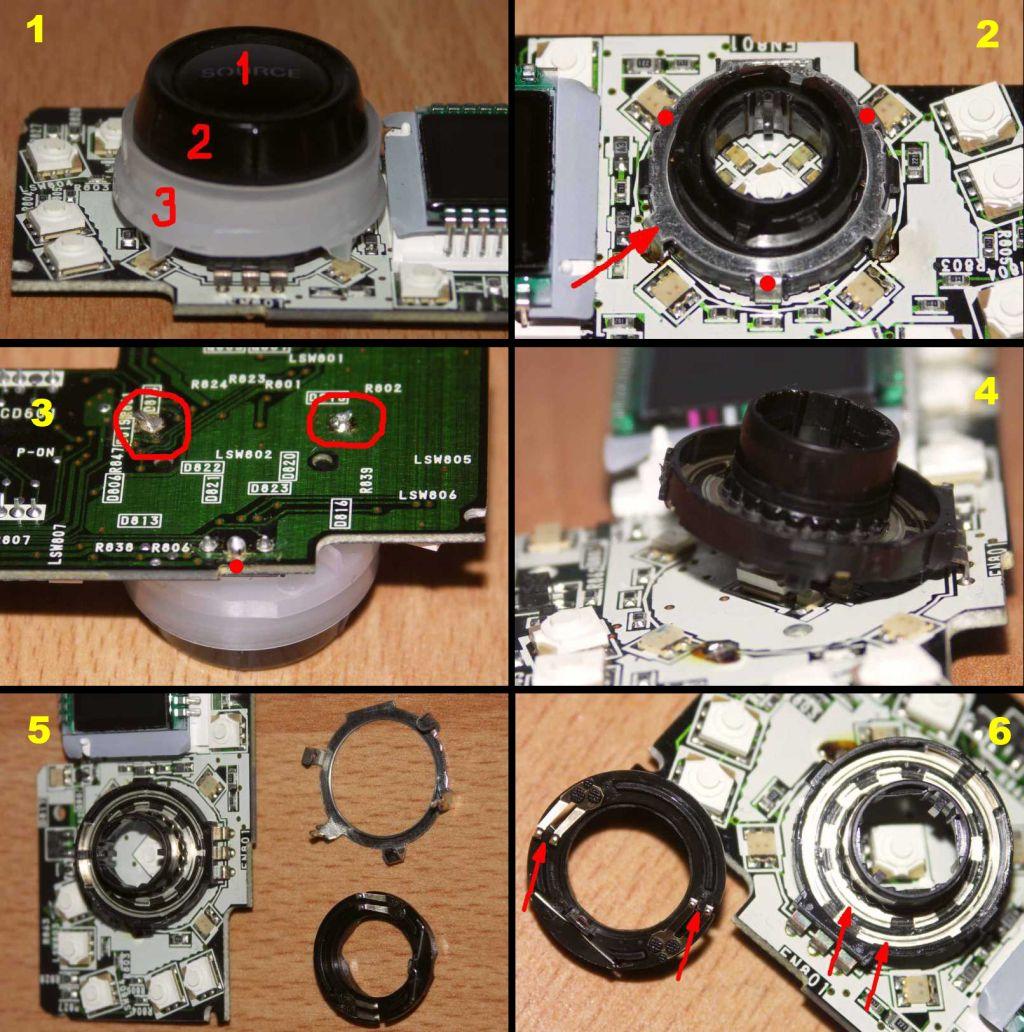 Enkoder, impulsator - czyszczenie (na przykładzie SONY)