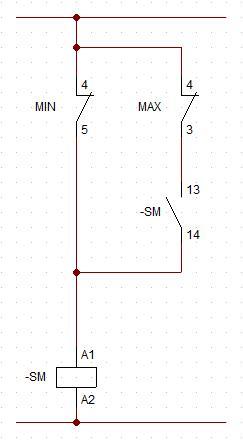 Schemat podłączenia. Silnik trójfazowy.