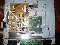Benq FP71E+ - nie włącza się, niebieska dioda przez chwilę