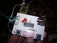 Oświetlenie choinki z diod RGB sterowanych niezależnie