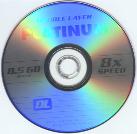 Nie mogę nagrać Płyty DL Platinum