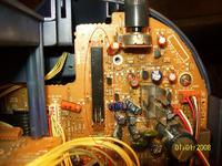Boombox LG CD-3230AX - przełącznik