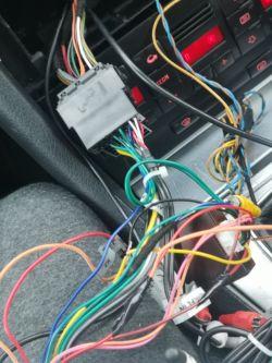 Multimedia - Radio Android Audi A4 b7 nie wyłącza się