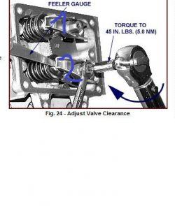 Briggs & Stratton 15.5HP - Jak rozpoznac zawory w silniku 15.5HP