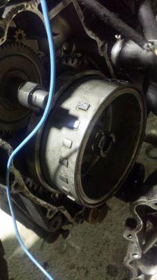 Malaguti silnik 150 na 250 - Zapłon