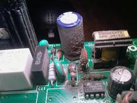 Pralka Indesit WISE107 - przekaźnik klika i silnik nie startuje