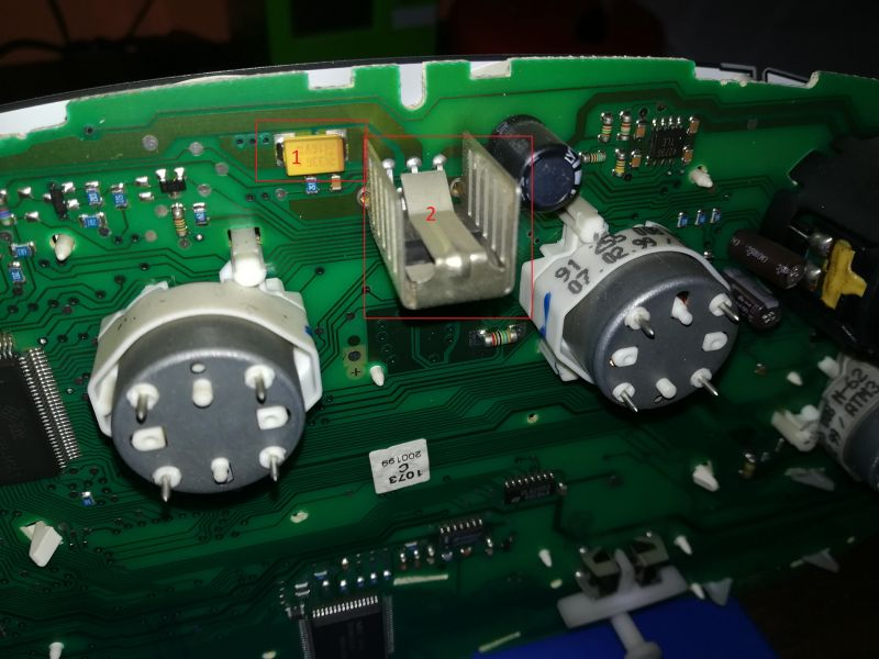 Golf IV 1.9 TDI-nie działa wskaźnik paliwa, temp. oraz miga kontrolka.
