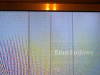 Samsung UE46C8790 - Biały ekran i linie