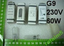 Żarówka żarnikowa 230V starego typu jako zabezpieczenie