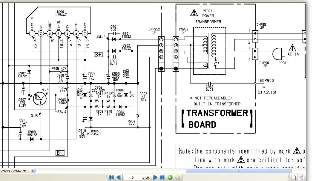 Tuner Sony st-se520 brak