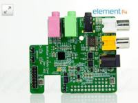 Wolfson Audio Card - modu� karty d�wi�kowej dla Raspberry Pi z WM5102