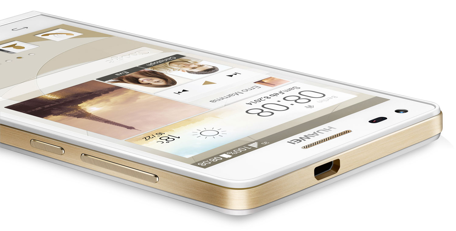 Huawei Ascend P7 mini - 4,5-calowy smartphone z LTE i Android 4.3