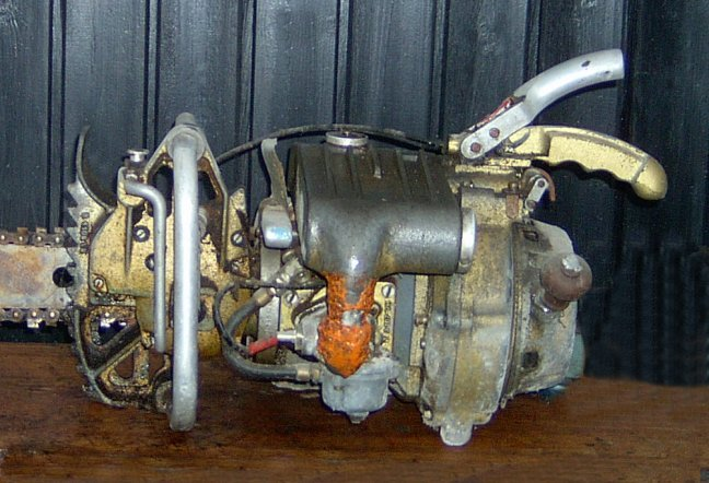 Stare, zabytkowe pilarki i inne silniki - rysunki, schematy, instrukcje.