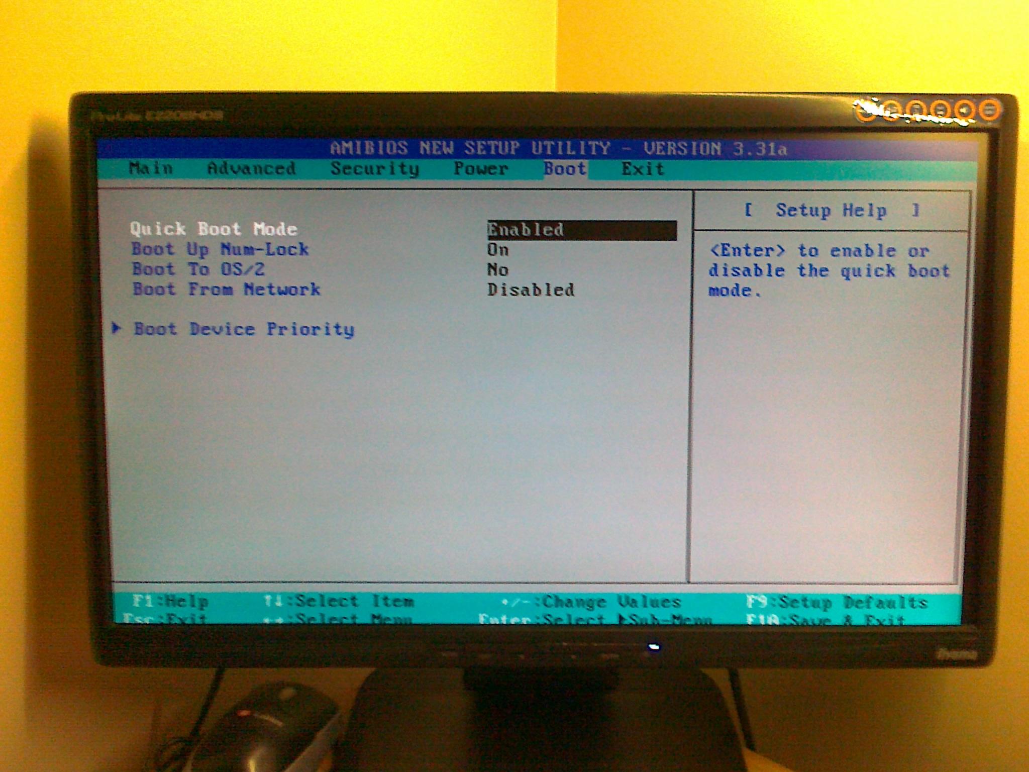 ASRock P4i45E - pokazuje 128 MB karty graficznej, potem czarny ekran