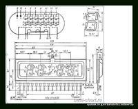 Schemat zegara Elektronika 6.31.