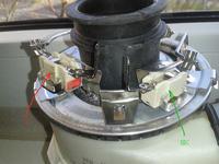 Whirlpool ADG9840 - Błąd P03 - awaria grzałki