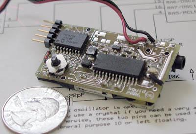 Odtwarzacz mp3 na PIC16LF88 i VS1011b
