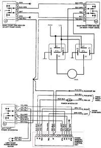 Audi80 B3 - Przycisk szyb elektrycznych - za�niedzia�e styki
