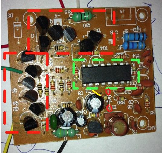 Koszyk akumulatorowy BL-5C 1020mAh, 3.7V ~3.8Wh