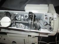 Maszyna do szycia Łucznik 747 - silnik pracuje a maszyna ani drgnie