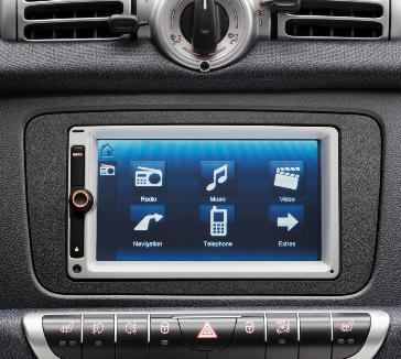 wyłącza się bosch Audio system navigation multimedia smart