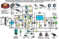 Dopasowanie odpowiednich elementów oraz schematu do zasilacza regulowanego