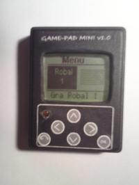 Game-Pad MINI v 1.0 Atmega8 LCD Nokia 3310 [C]