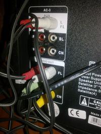 INTEX 4650W - (system 5.1 6x RCA) jak połączyć z wyjściem STEREO (Jack 3.5mm)