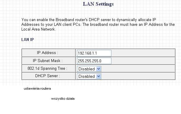 podzial netu przez switch na kilka kompow - kwestia ISP