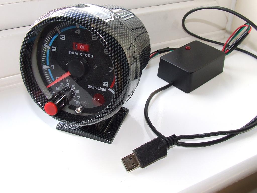 Komputerowy miernik wykorzystania procesora.