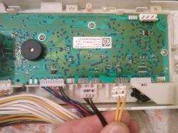 AEG-Electrolux Lavamat 46210L- podłączenie wtyczek do modułu sterującego