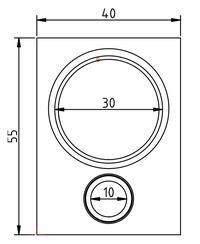 GND 30/120 - wyliczenie rozmiarów obudowy do frontu