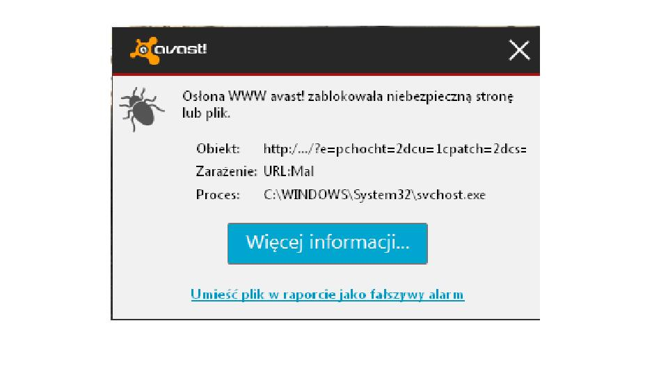 Windows Xp SP3 - avast ci�gle wykrywa to samo zagro�enie