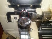 maszyna do szycia VERITAS TEXTIMA - zablokowany bębenek