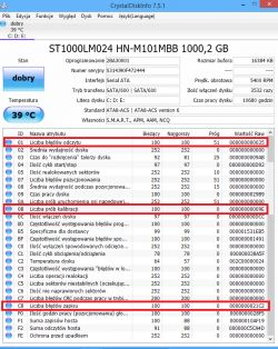 """SEAGATE 1TB SATA II 2.5"""" (ST10 - Dysk twardy w laptopie"""