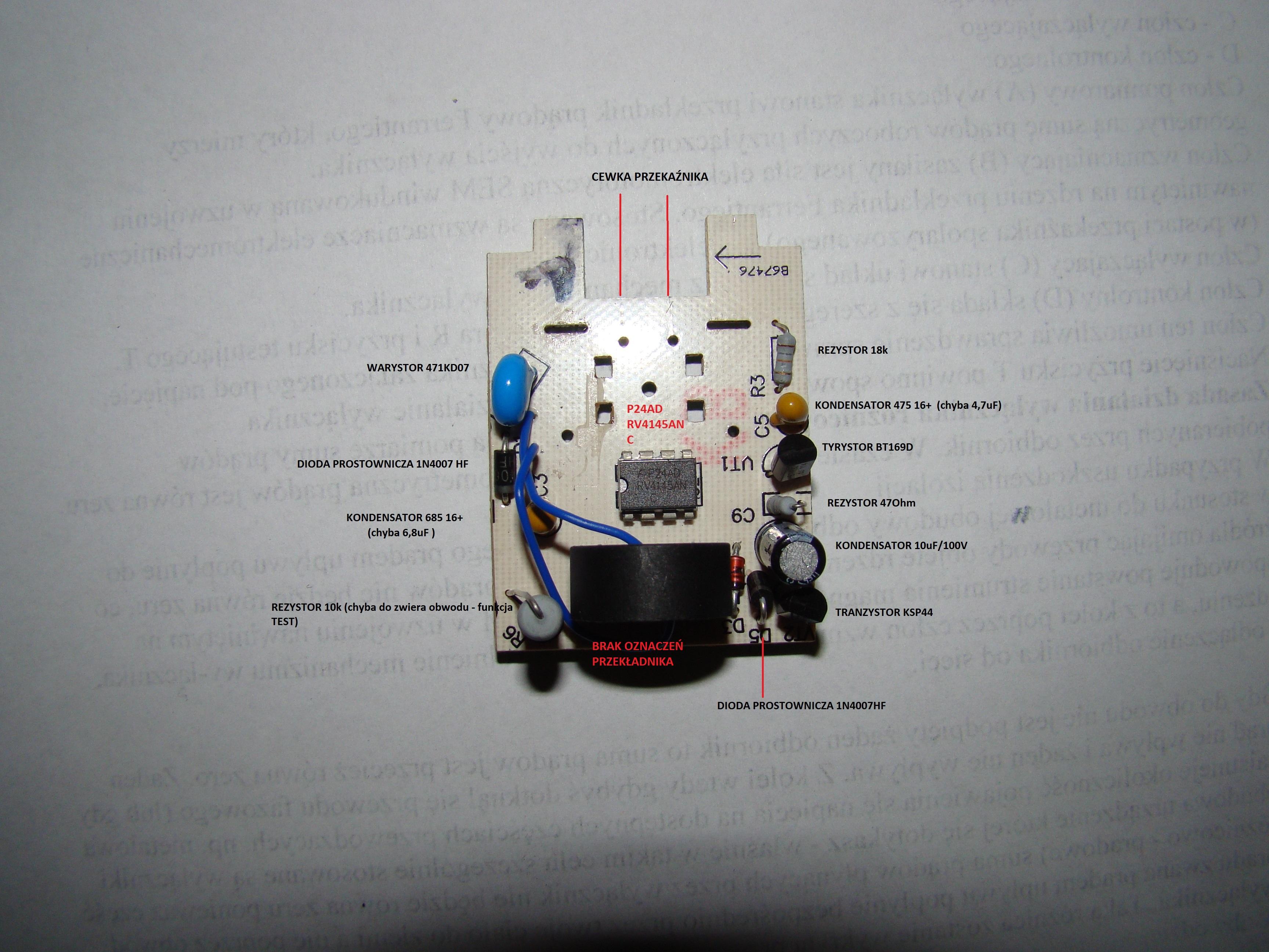 Pomiar pr�du przemiennego do 5A z rozdzielczo�ci� 10-30mA.