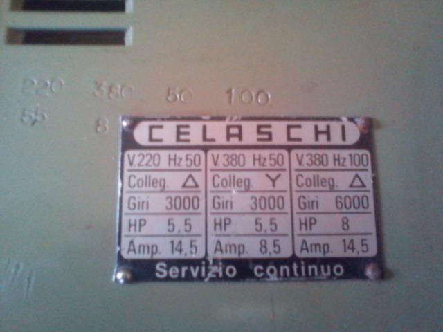 Nowy silnik firmy CELASCHI i jak go pod��czy�.