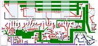 Preamp lampowy Cobra - prowadzenie masy na PCB