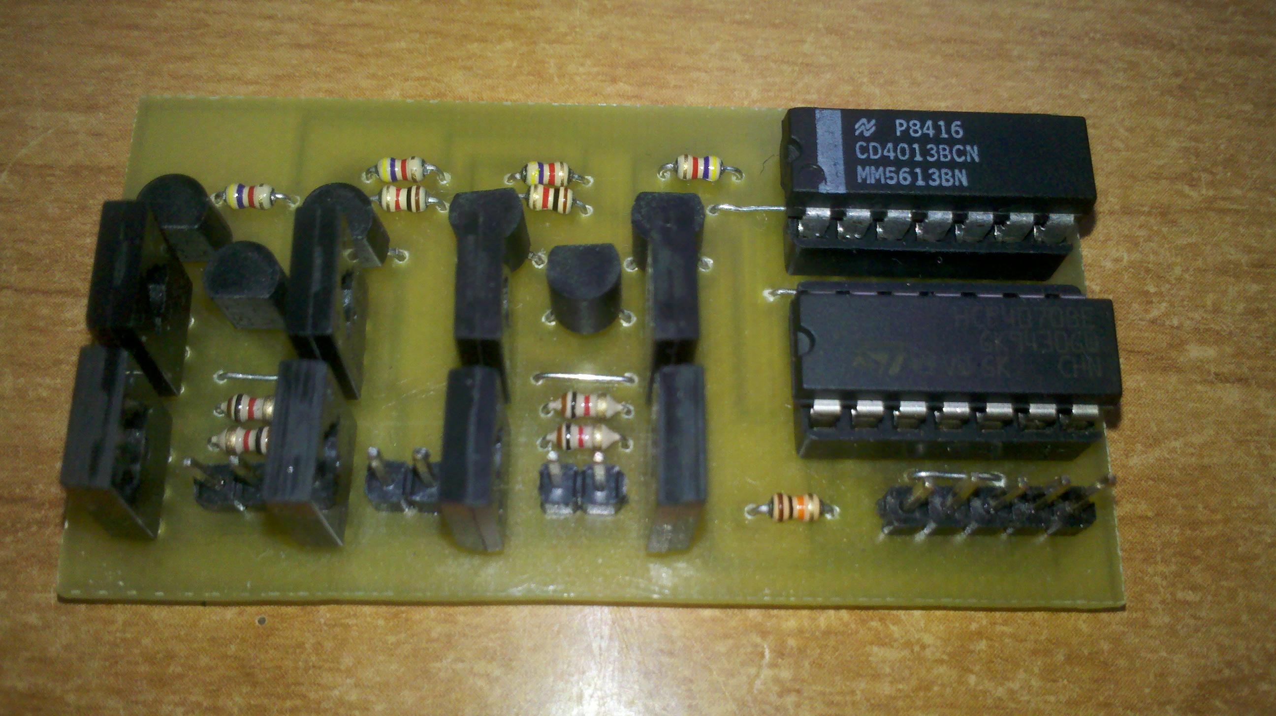 Sterownik bipolarny, ca�okrokowy (step/dir/enable) w oparciu o uk�ady serii 4000