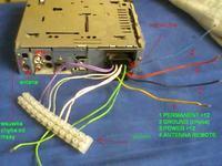 radio samochodowe JVC KS-FX430R nie ma dźwięku na wyjściach