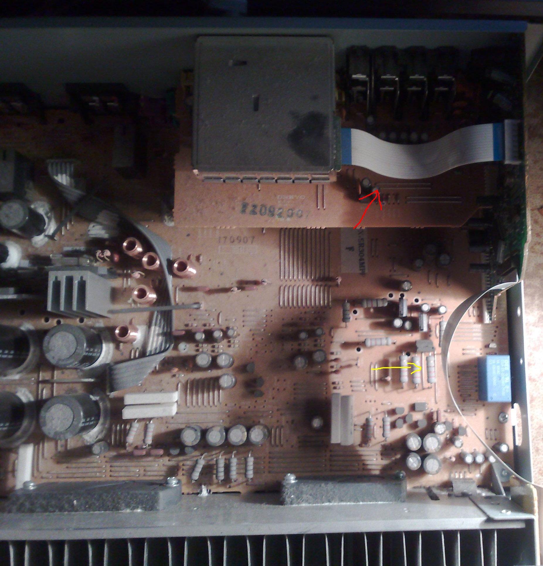 Amplituner Onkyo TX SR304E nie wyszukuje stacji