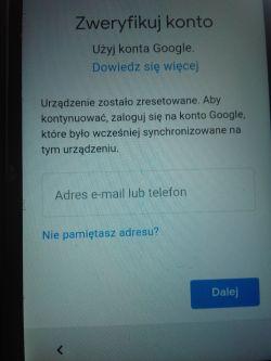 LG leon h340n blokada Google android 6.0 pl