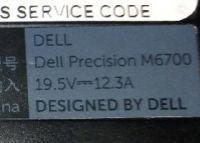 DELL Precision M6700 - zasilacz przeróbka napięcia wejścia z AC 220V na DC 24V